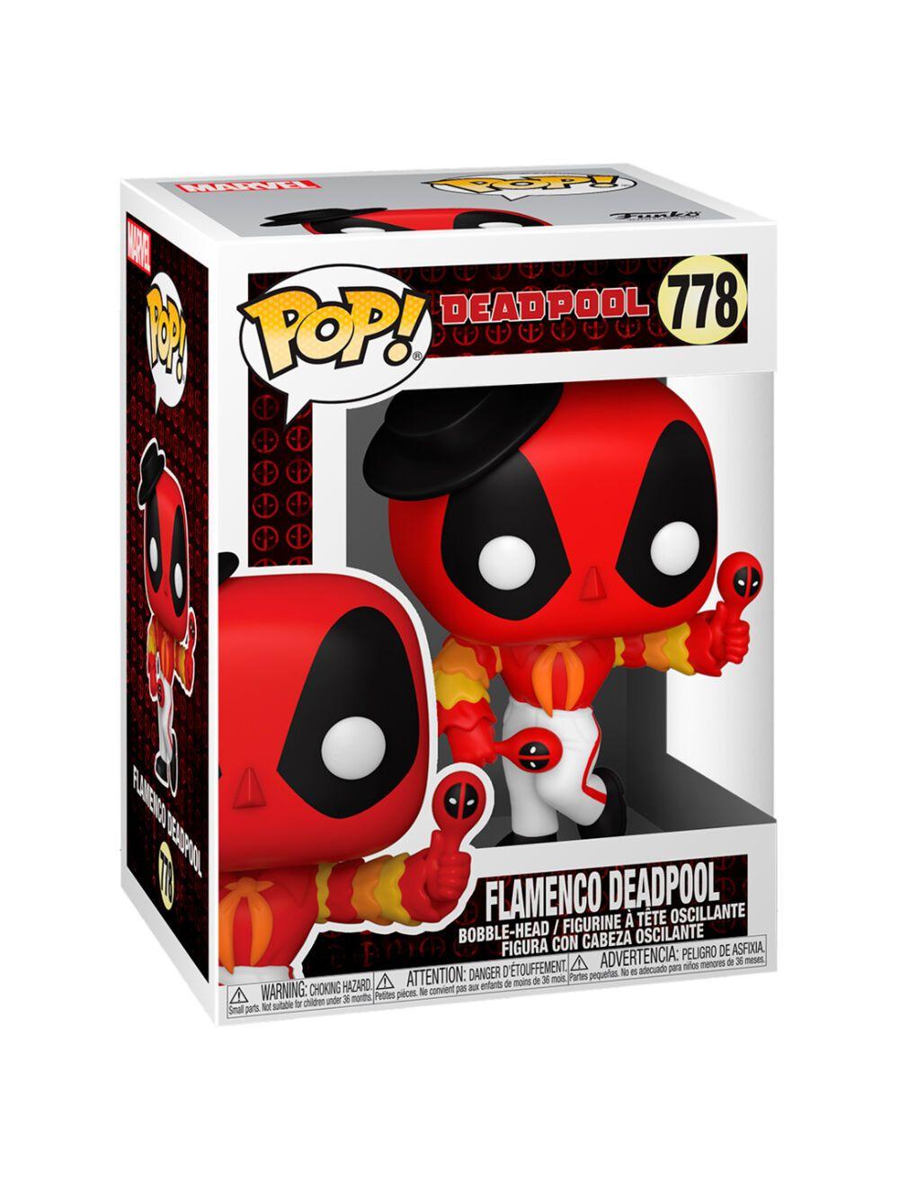 Funko POP! Deadpool 30th - Flamenco Deadpool Vinyl figura 10cm