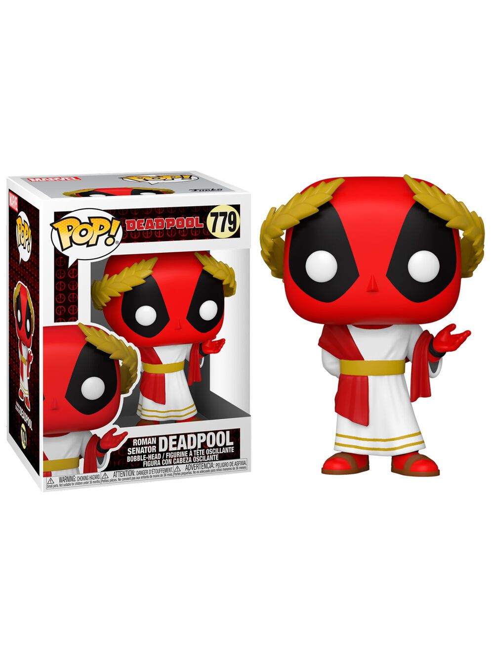 Funko POP! Deadpool 30th - Roman Senator Deadpool Vinyl figura 10cm