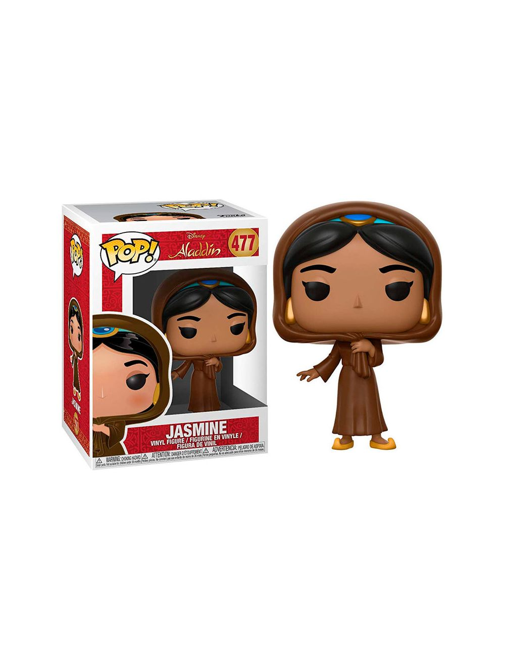 Funko POP! Disney Aladdin Jasmine in Disguise Vinyl figura 10cm