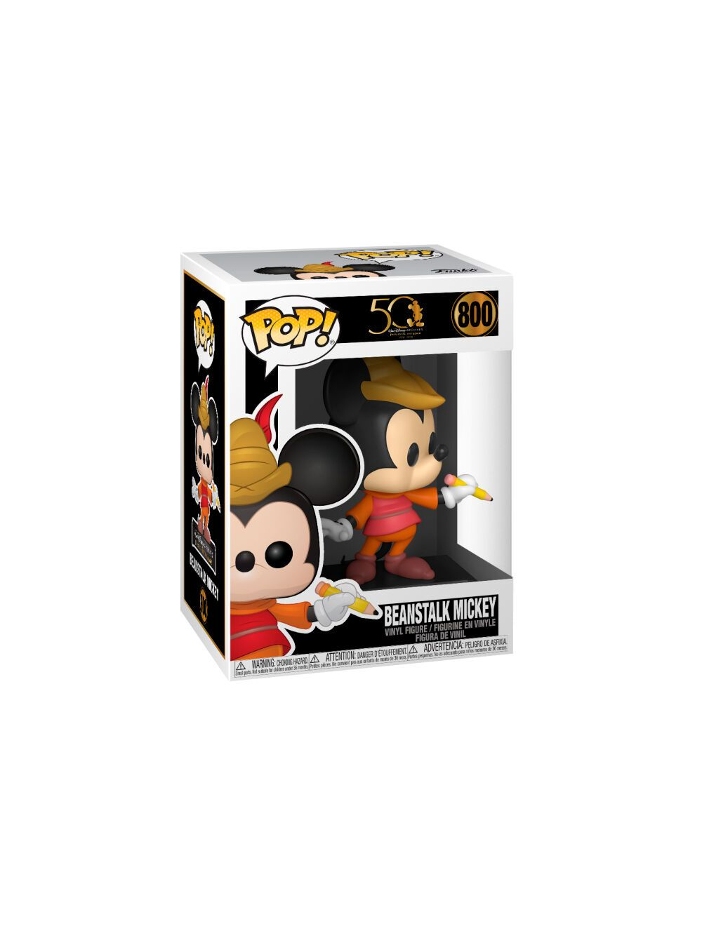 Funko POP! Disney Archives - Beanstalk Mickey Vinyl Figura 10cm