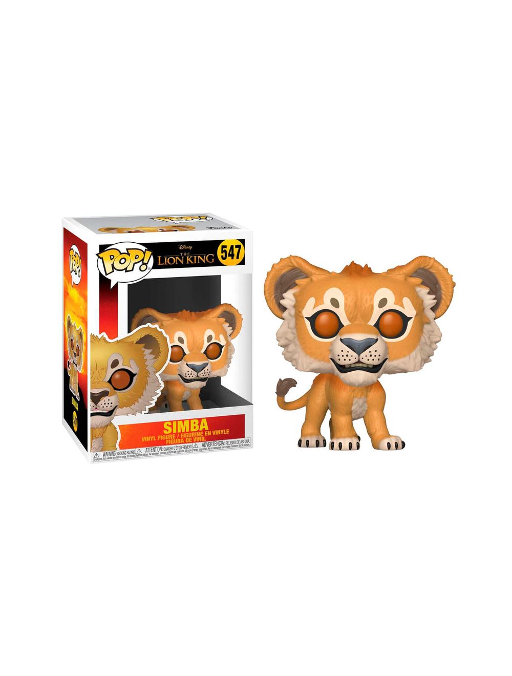 Funko POP! Disney The Lion King Simba Vinyl figura 10cm