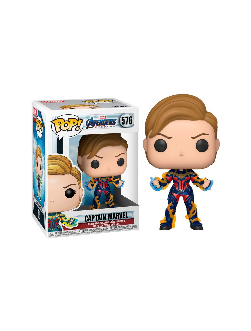 Funko POP! Endgame - Captain Marvel  New Hair Vinyl figura 10cm