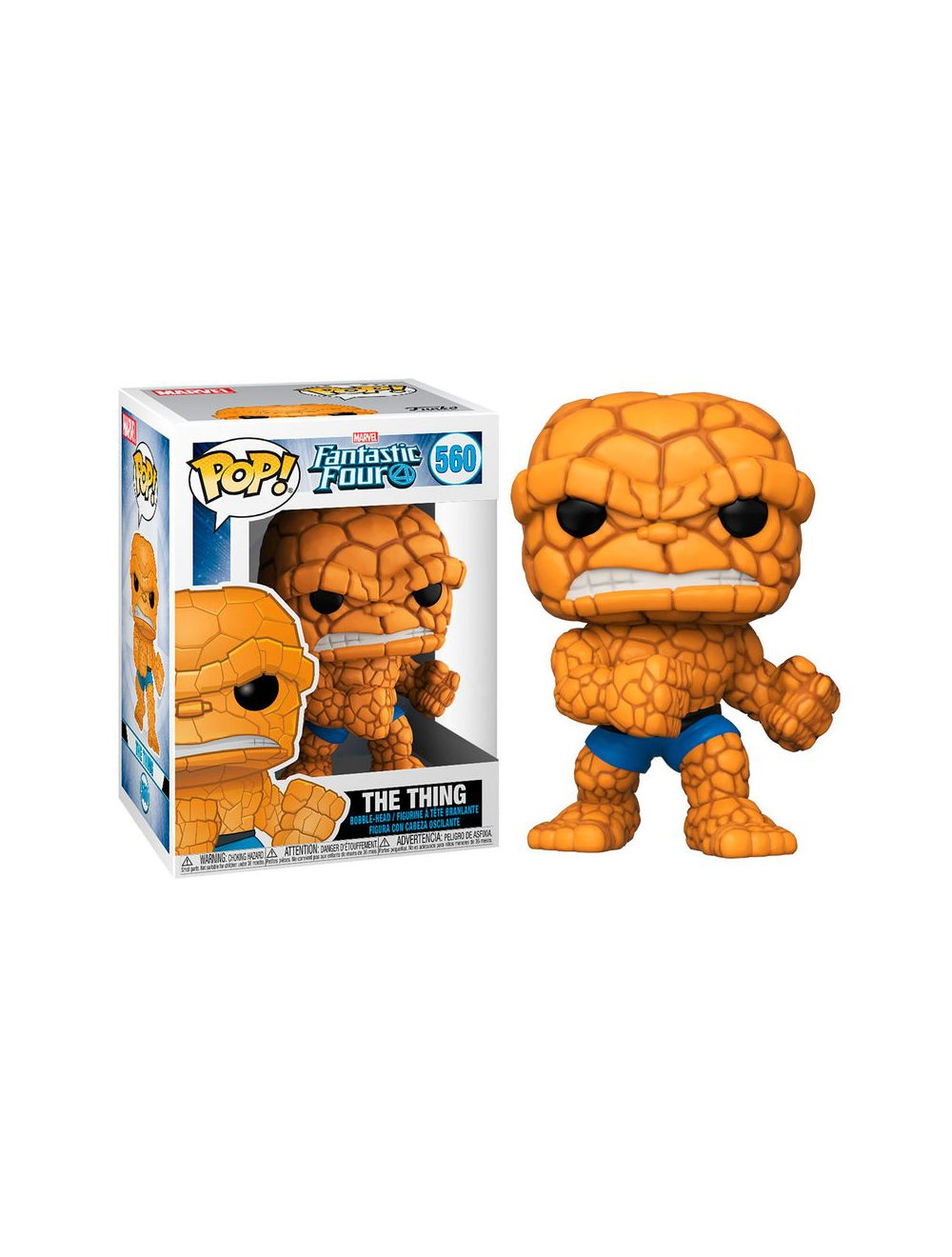 Funko POP! Fantastic Four - The Thing Vinyl Figura 10cm