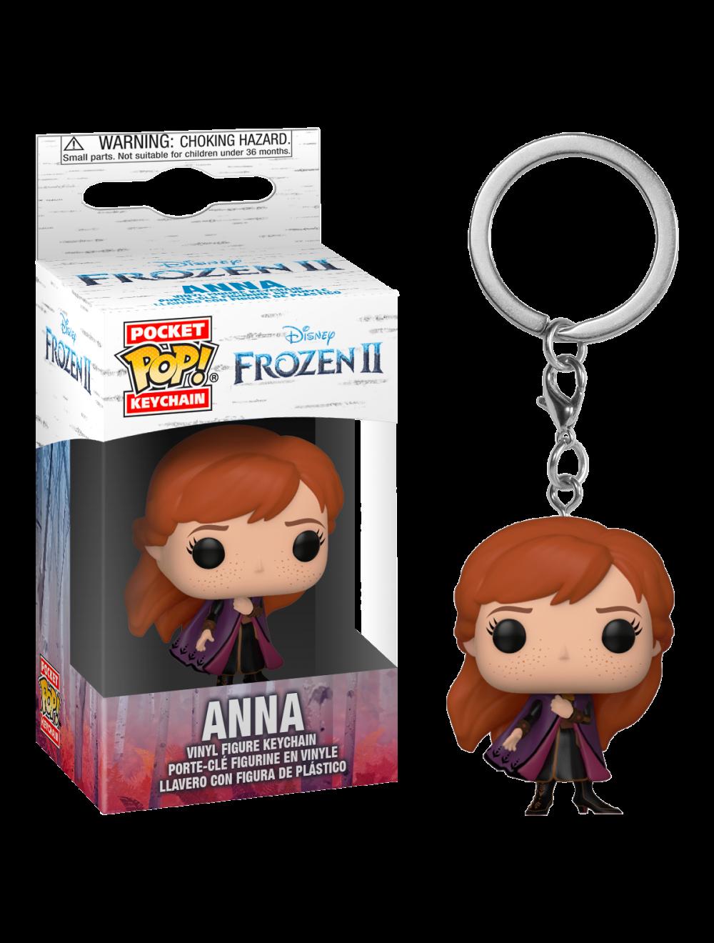 Funko POP! Frozen 2 - Anna Vinyl kulcstartó figura