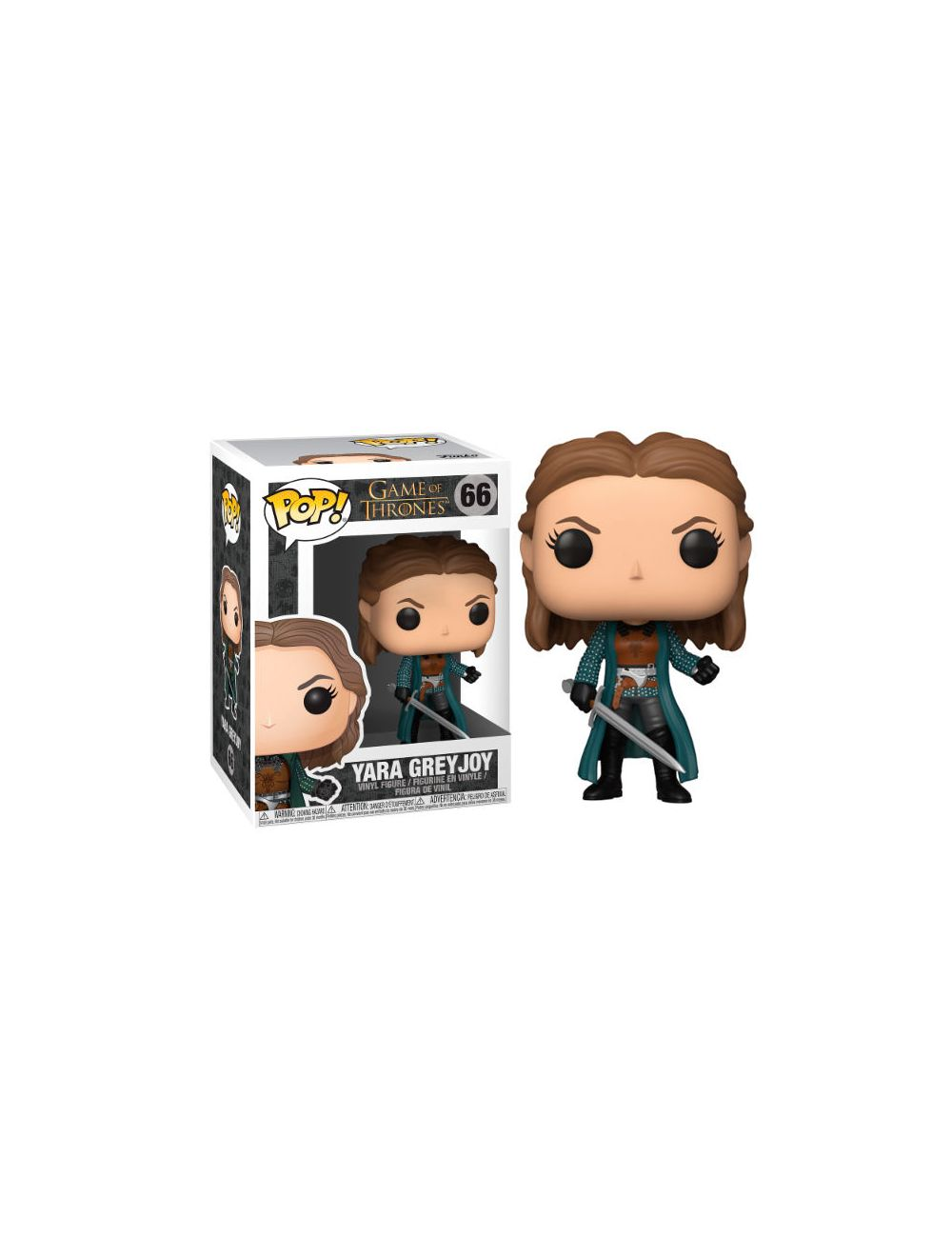 Funko POP! Game of Thrones Yara Greyjoy Vinyl figura 10cm