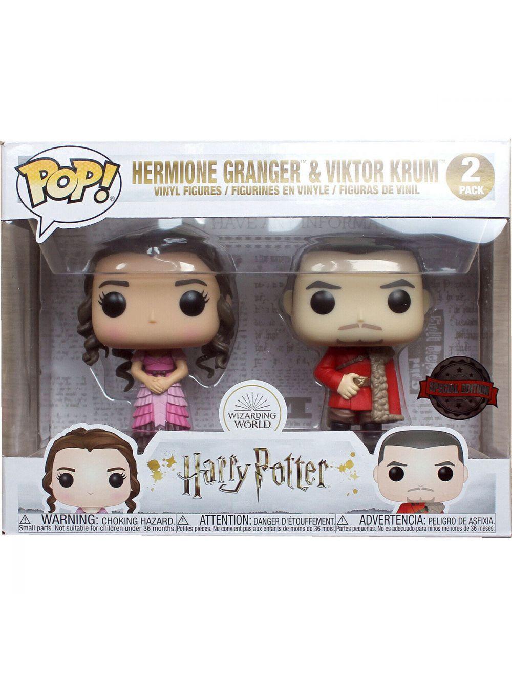 Funko POP! Harry Potter Hermione and Krum Yule Exclusive 2 figurás szett