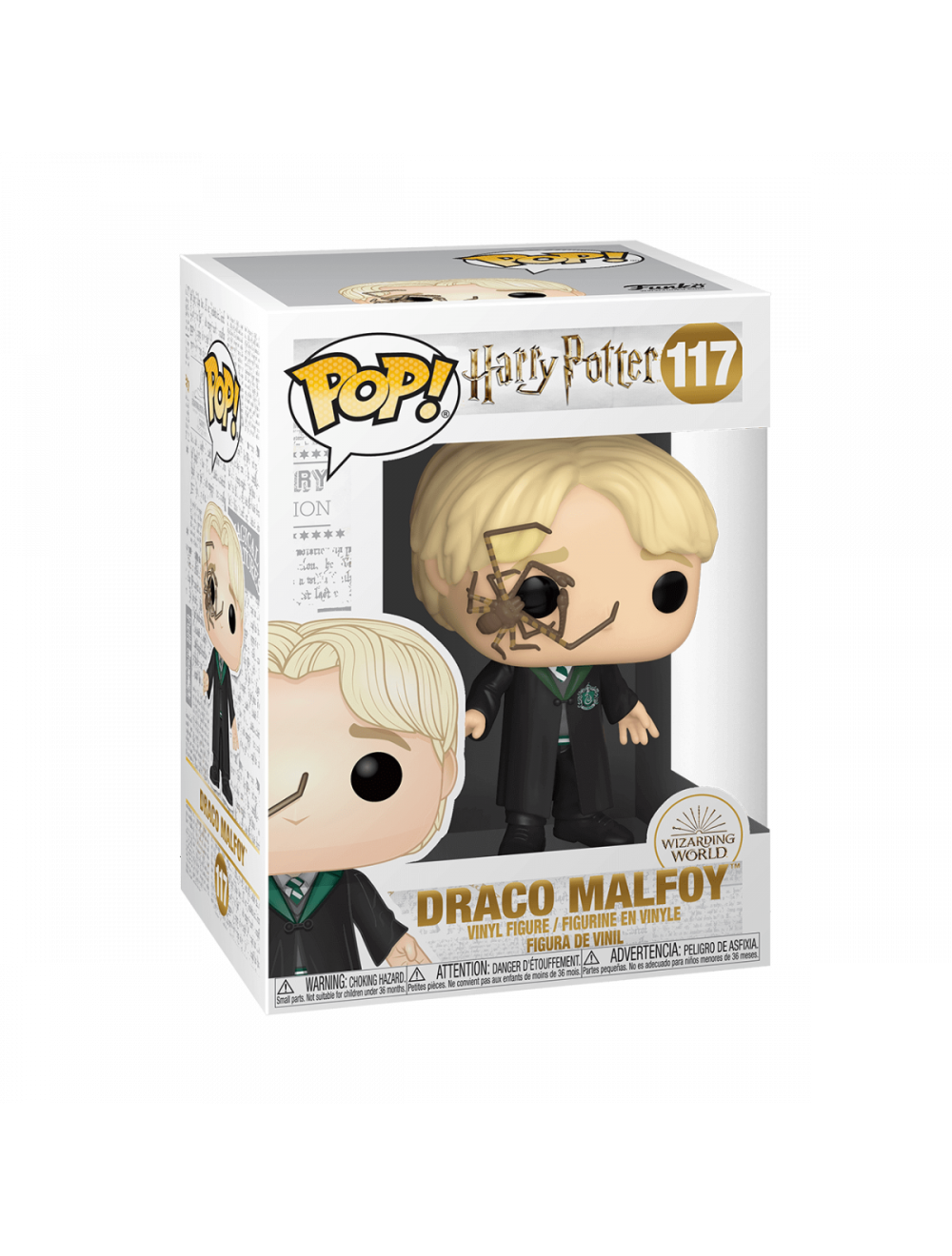 Funko POP! Harry Potter - Malfoy Whip Spider Vinyl Figura 10cm
