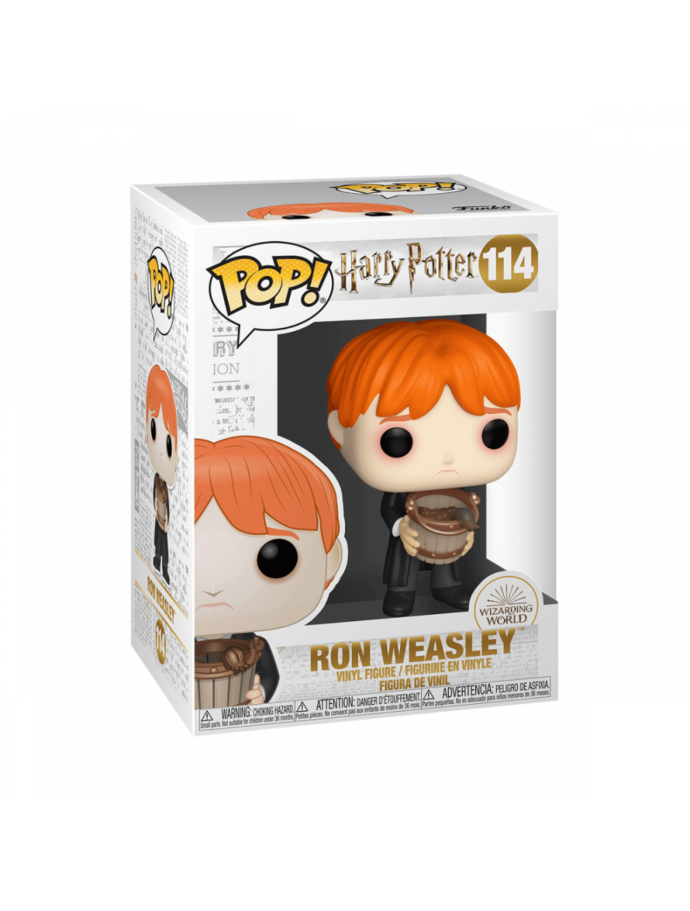 Funko POP! Harry Potter - Ron Puking Slugs Bucket Vinyl Figura 10cm