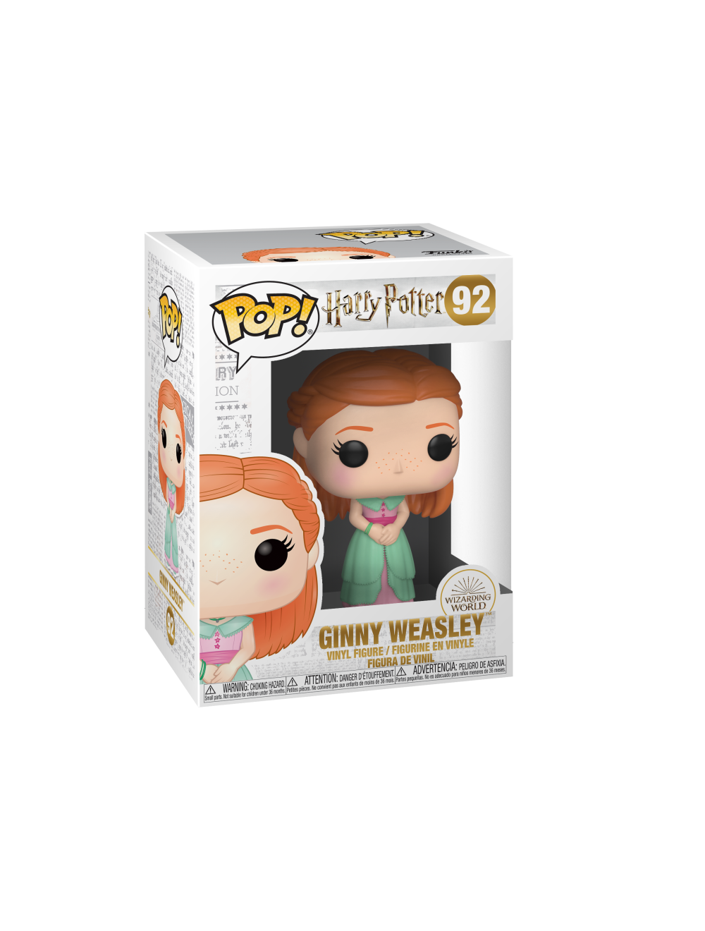 Funko POP! Harry Potter S8 - Ginny (Yule) Vinyl Figura 10cm