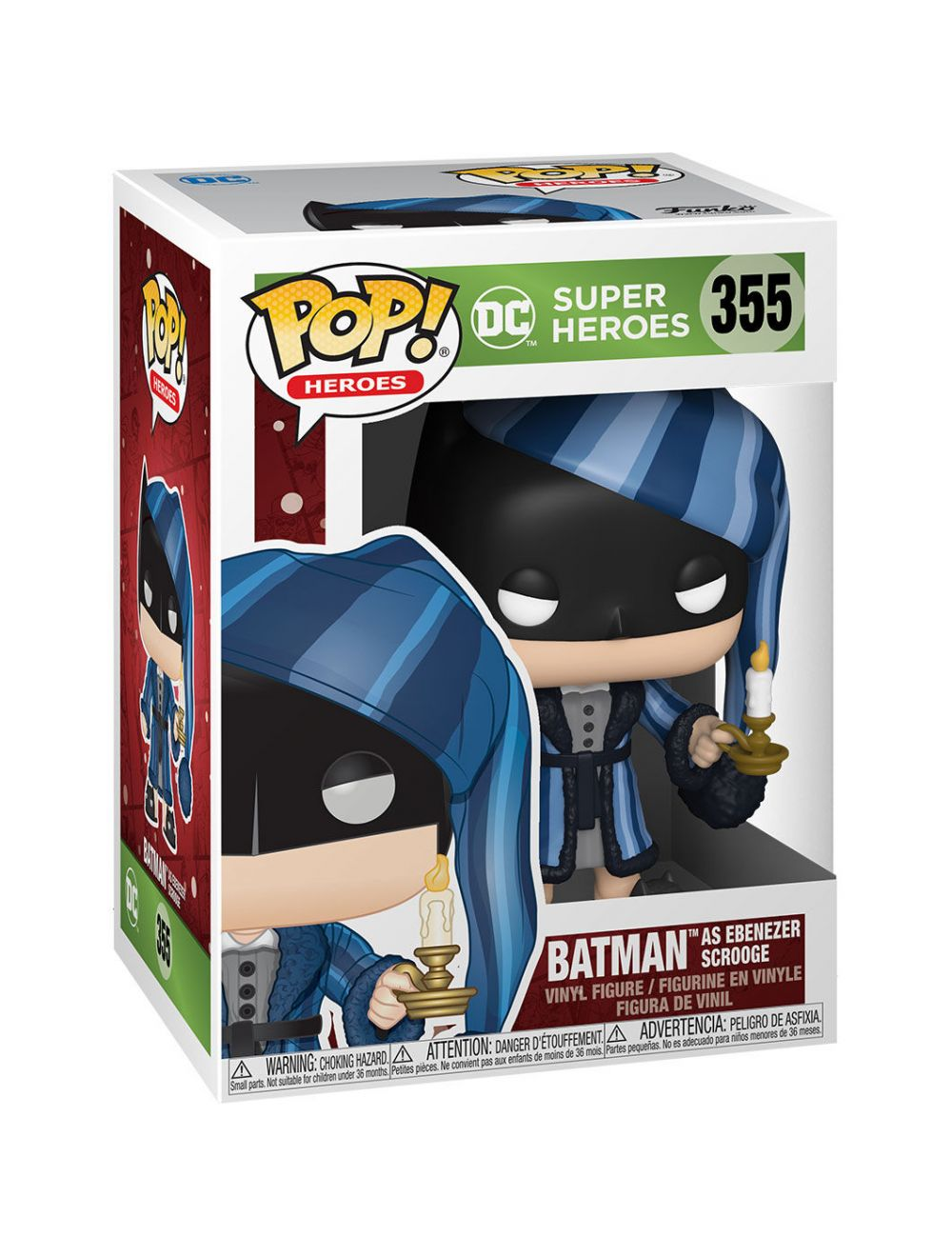 Funko POP! Heroes: DC Holiday - Scrooge Batman Vinyl Figura 10cm