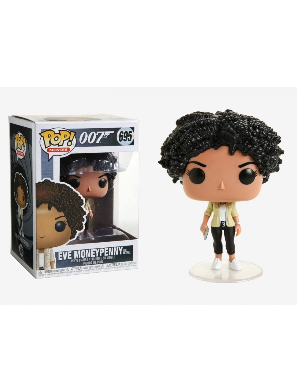 Funko POP! James Bond - Eve Moneypenny Vinyl Figura 10cm