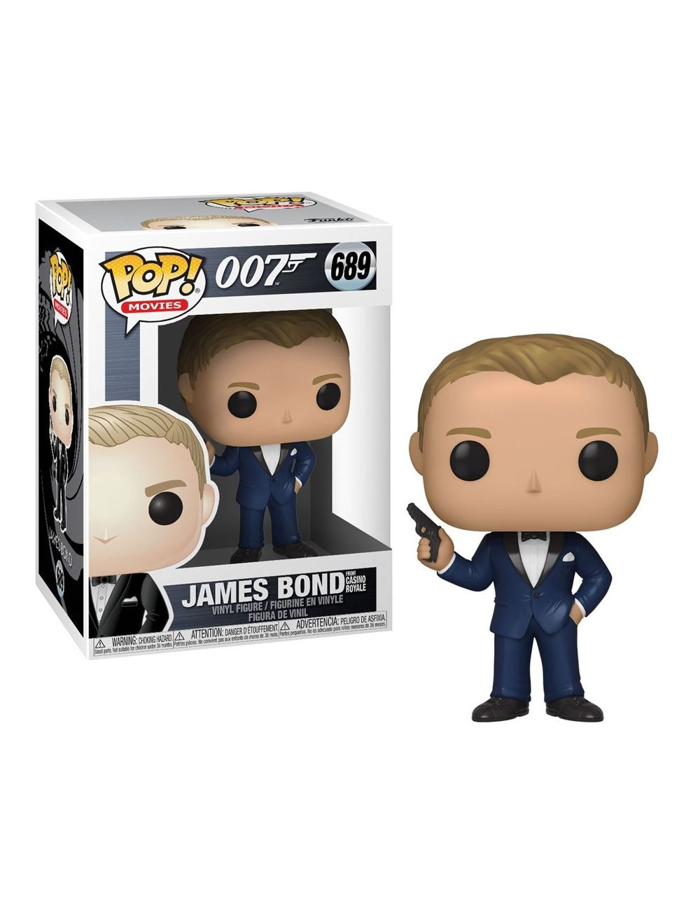 Funko POP! James Bond - Daniel Craig (Casino Royale) Vinyl Figura 10cm