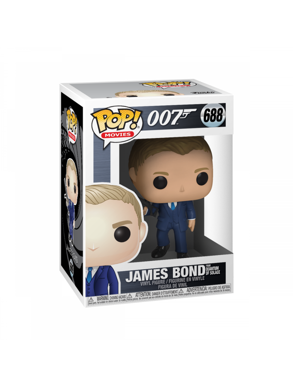 Funko POP! James Bond - Daniel Craig (Quantum of Solace) Vinyl Figura 10cm