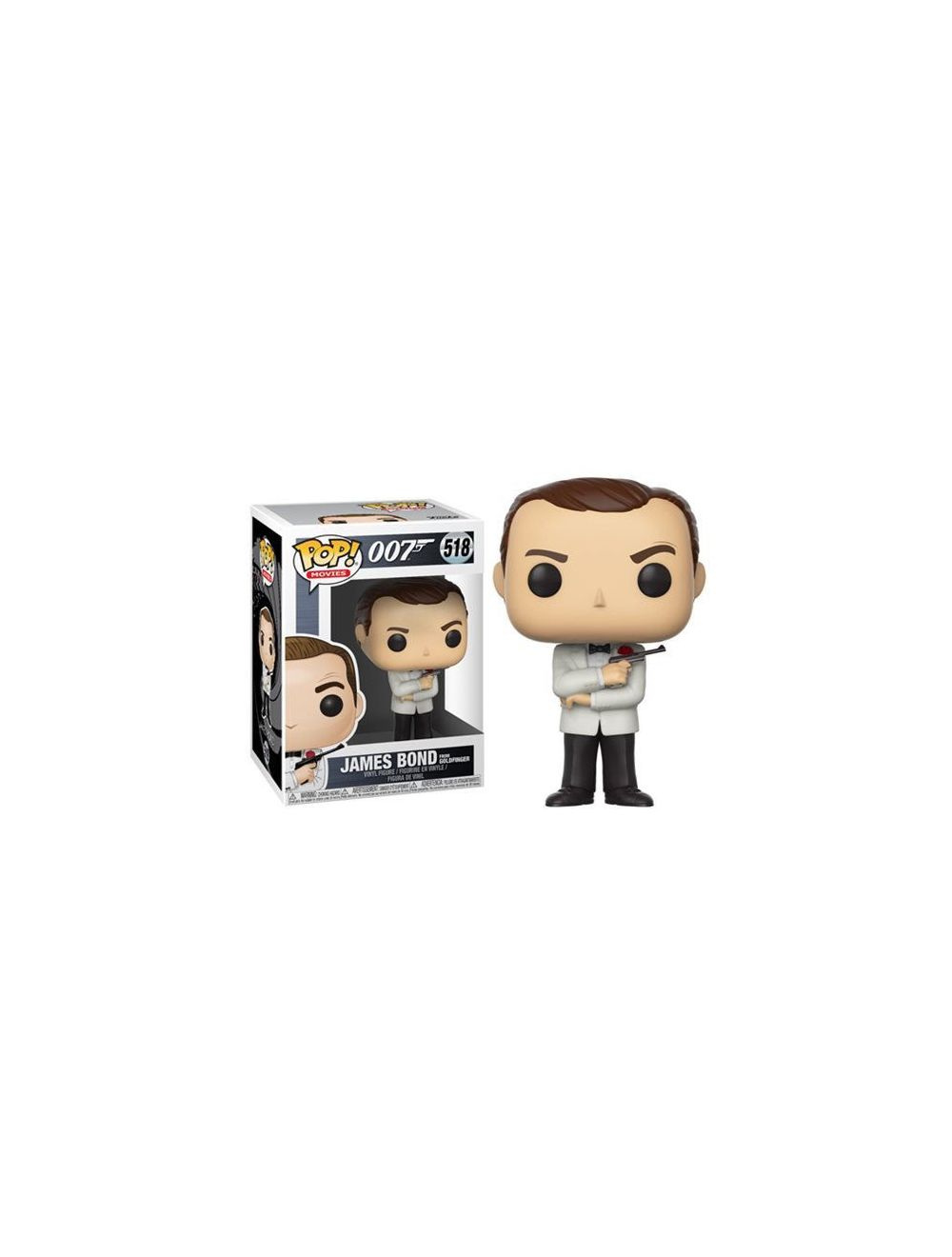 Funko POP! James Bond Sean Connery White Tux Vinyl figura 10cm