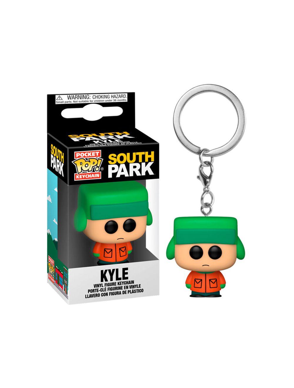 Funko POP! Kulcstartó South Park - Kyle Vinyl figura