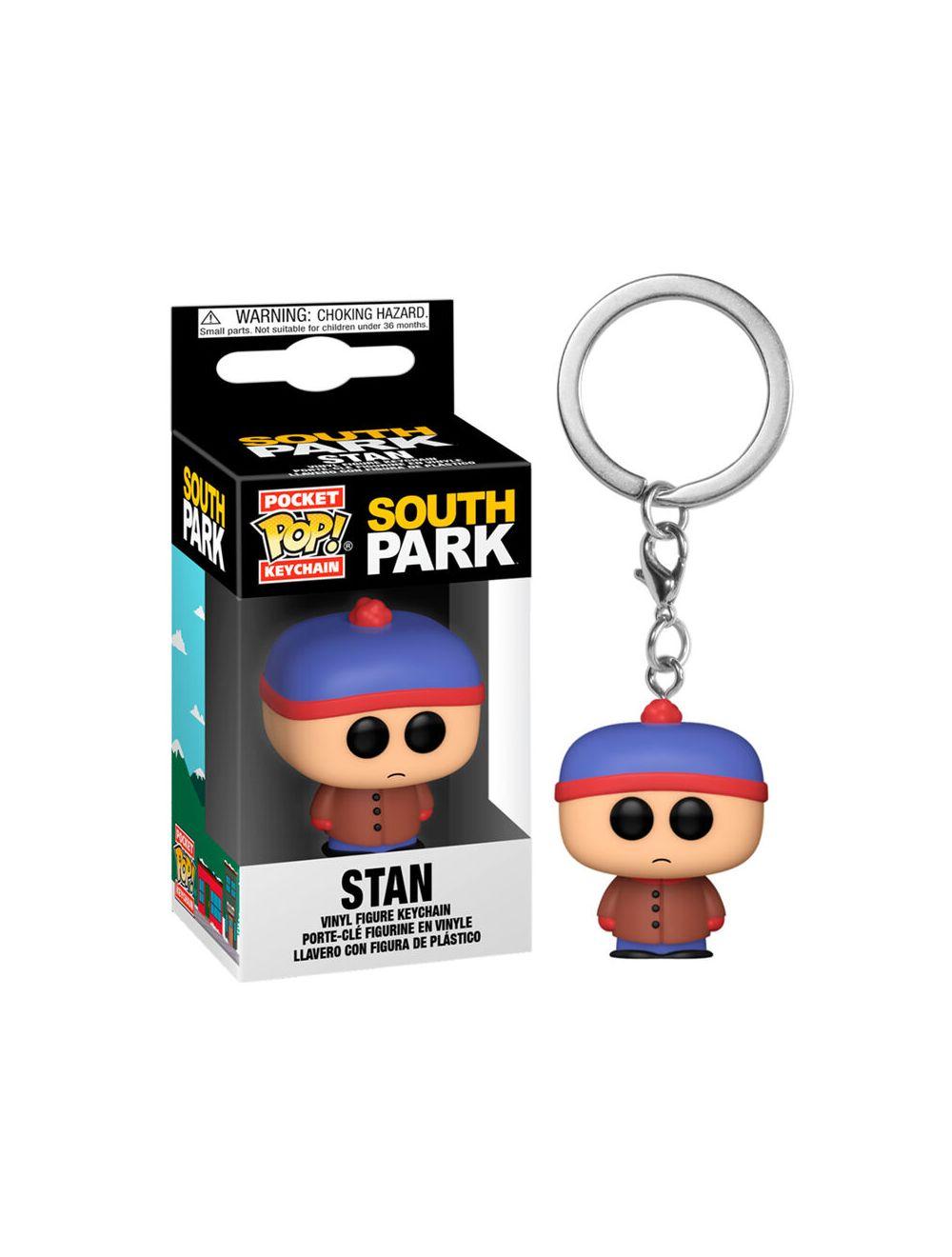 Funko POP! Kulcstartó South Park - Stan Vinyl figura