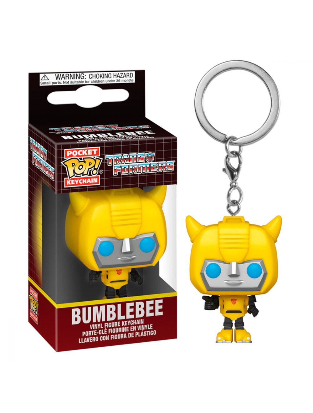 Funko POP! Kulcstartó Transformers - Bumblebee Vinyl figura