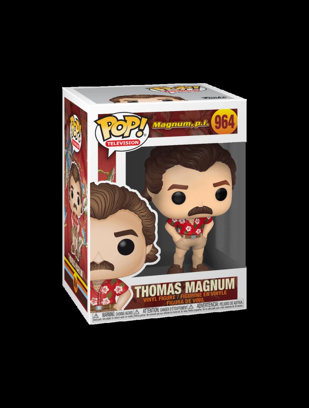 Funko POP! Magnum P.I. - Thomas Magnum Vinyl Figura 10cm