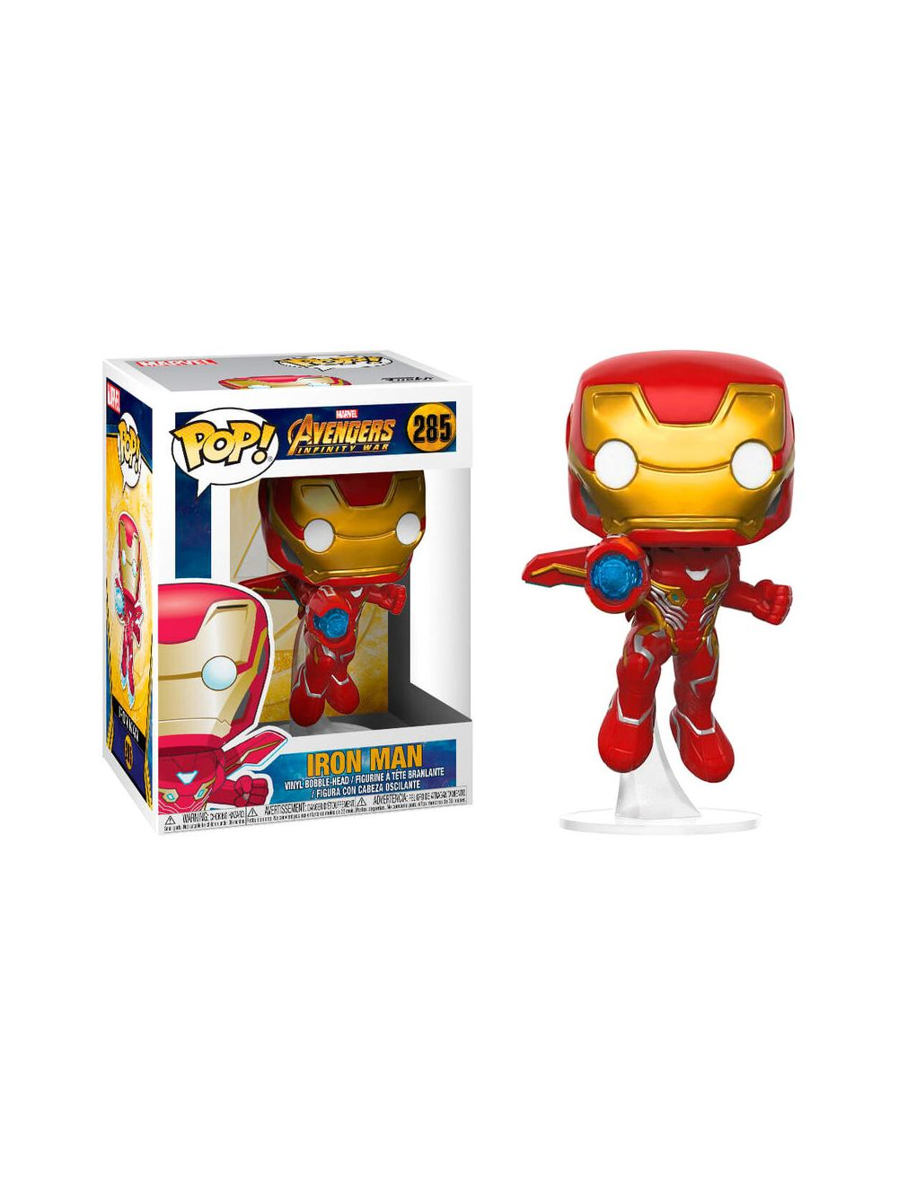 Funko POP! Marvel Avengers Infinity War Iron Man / Vasember with Wings Vinyl Figura 10cm