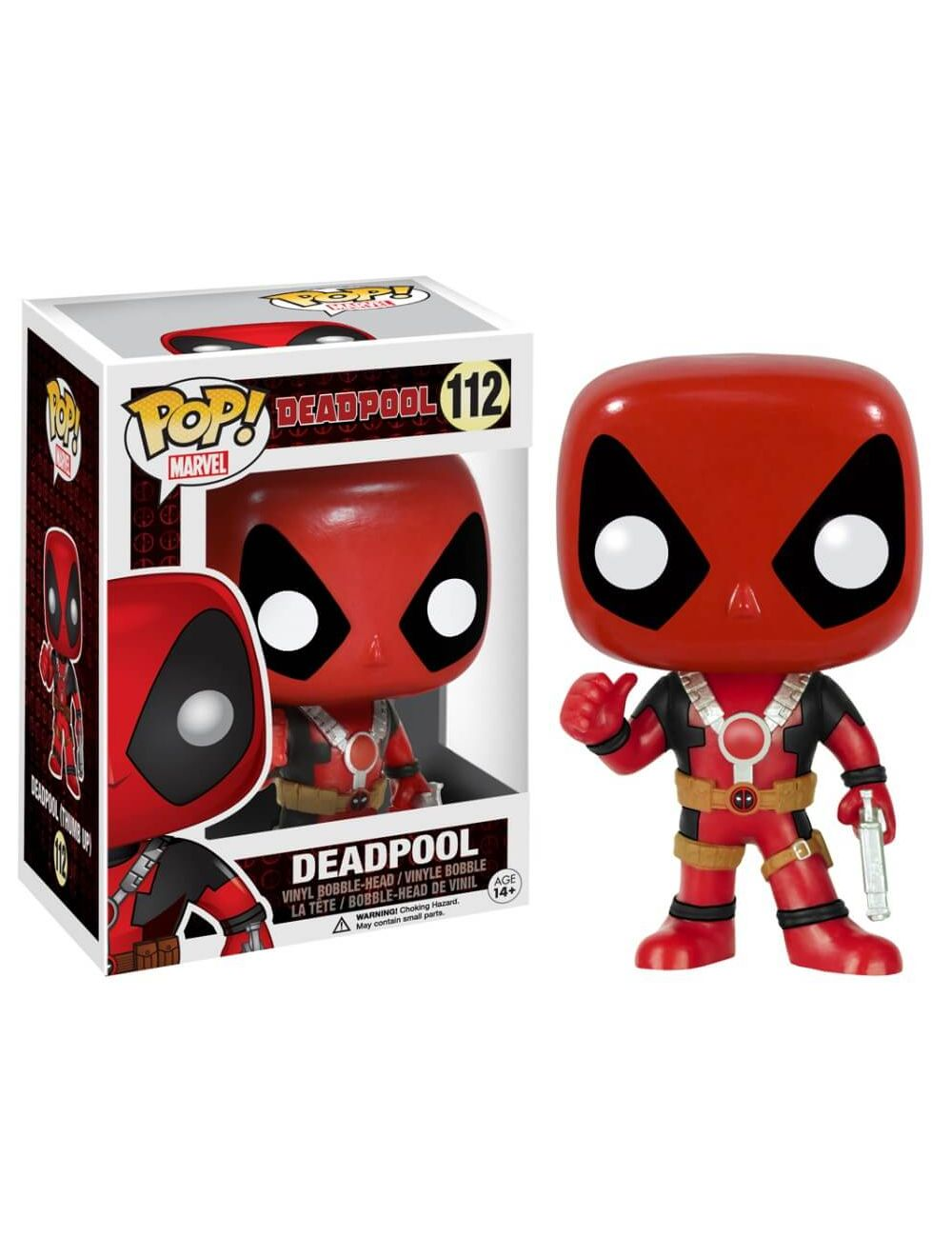 Funko POP! Marvel - Deadpool Thumb Up Vinyl Figura 10cm