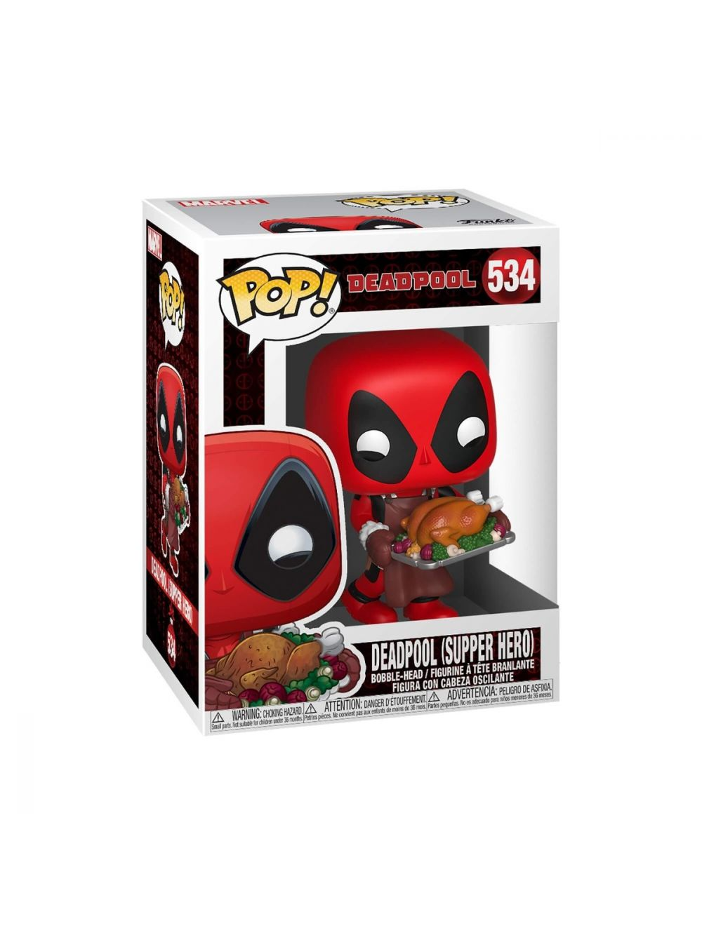 Funko POP! Marvel Holiday - Deadpool Vinyl Figura 10cm