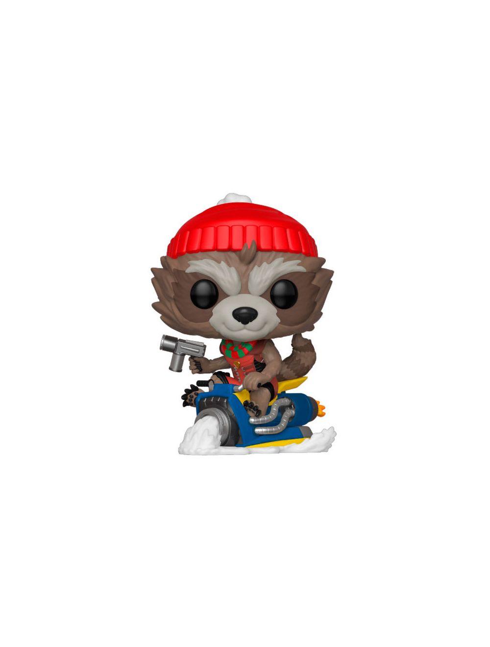 Funko POP! Marvel Holiday - Rocket Vinyl Figura 10cm