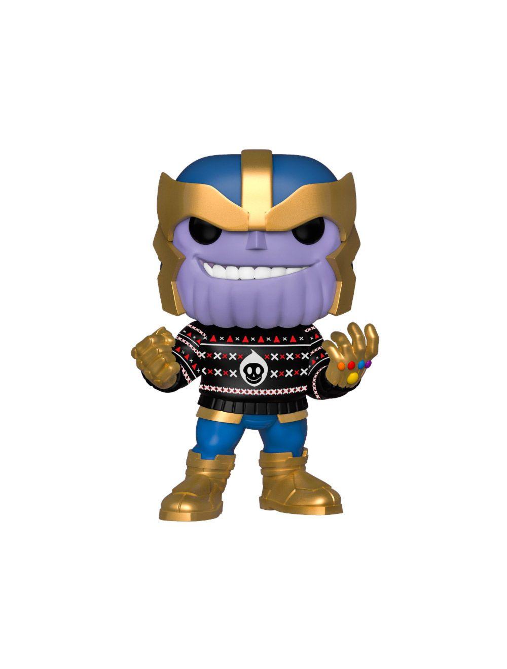 Funko POP! Marvel Holiday - Thanos Vinyl Figura 10cm