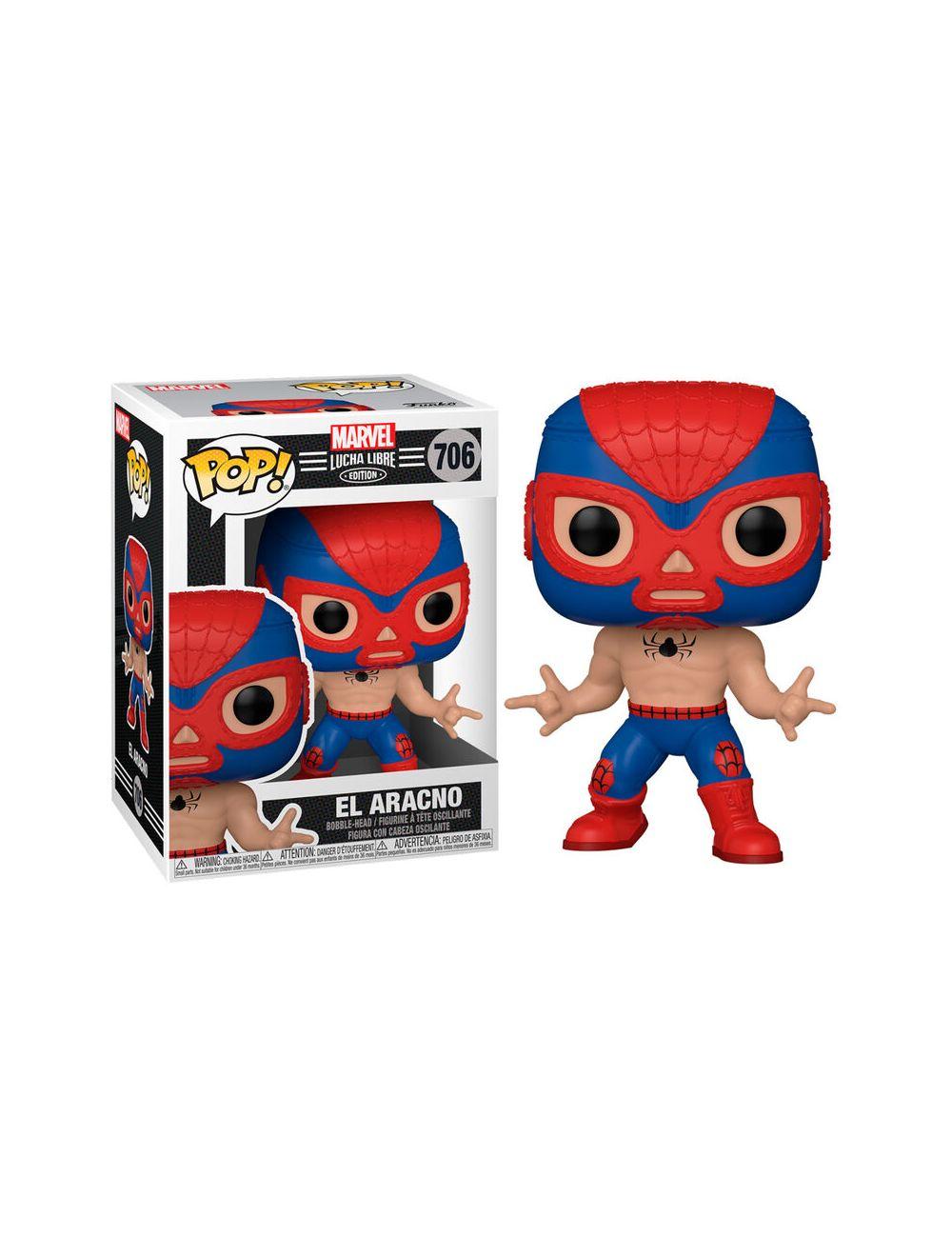 Funko POP! Marvel Lucha Libre - Spider-Man Vinyl figura 10cm