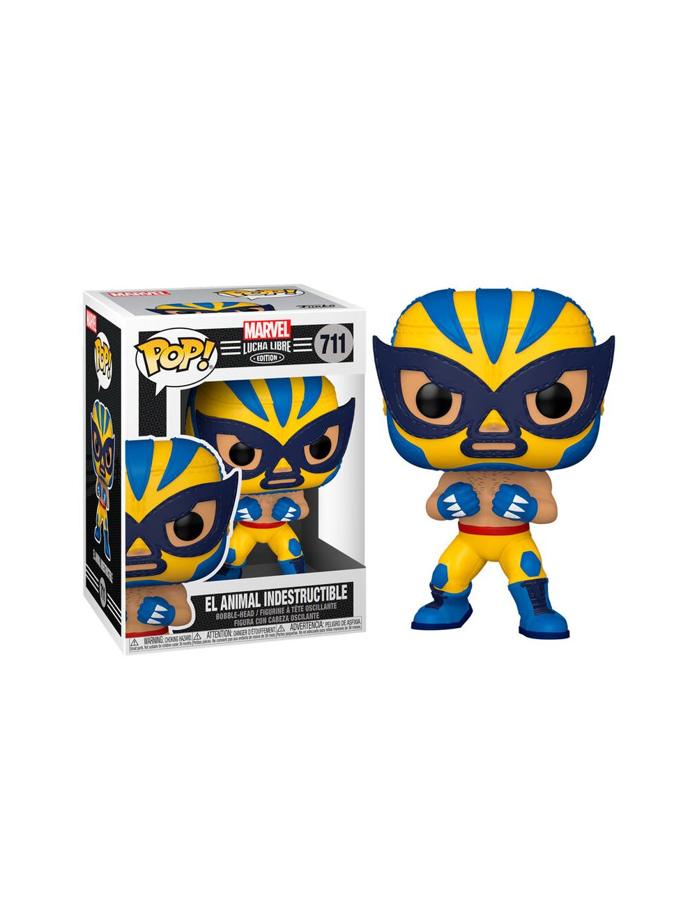 Funko POP! Marvel Lucha Libre - Wolverine Vinyl figura 10cm