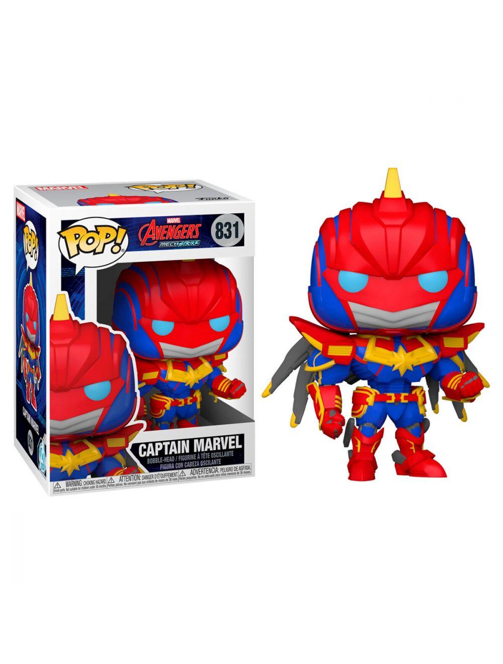 Funko POP! Marvel Mech - Captain Marvel Vinyl figura 10cm