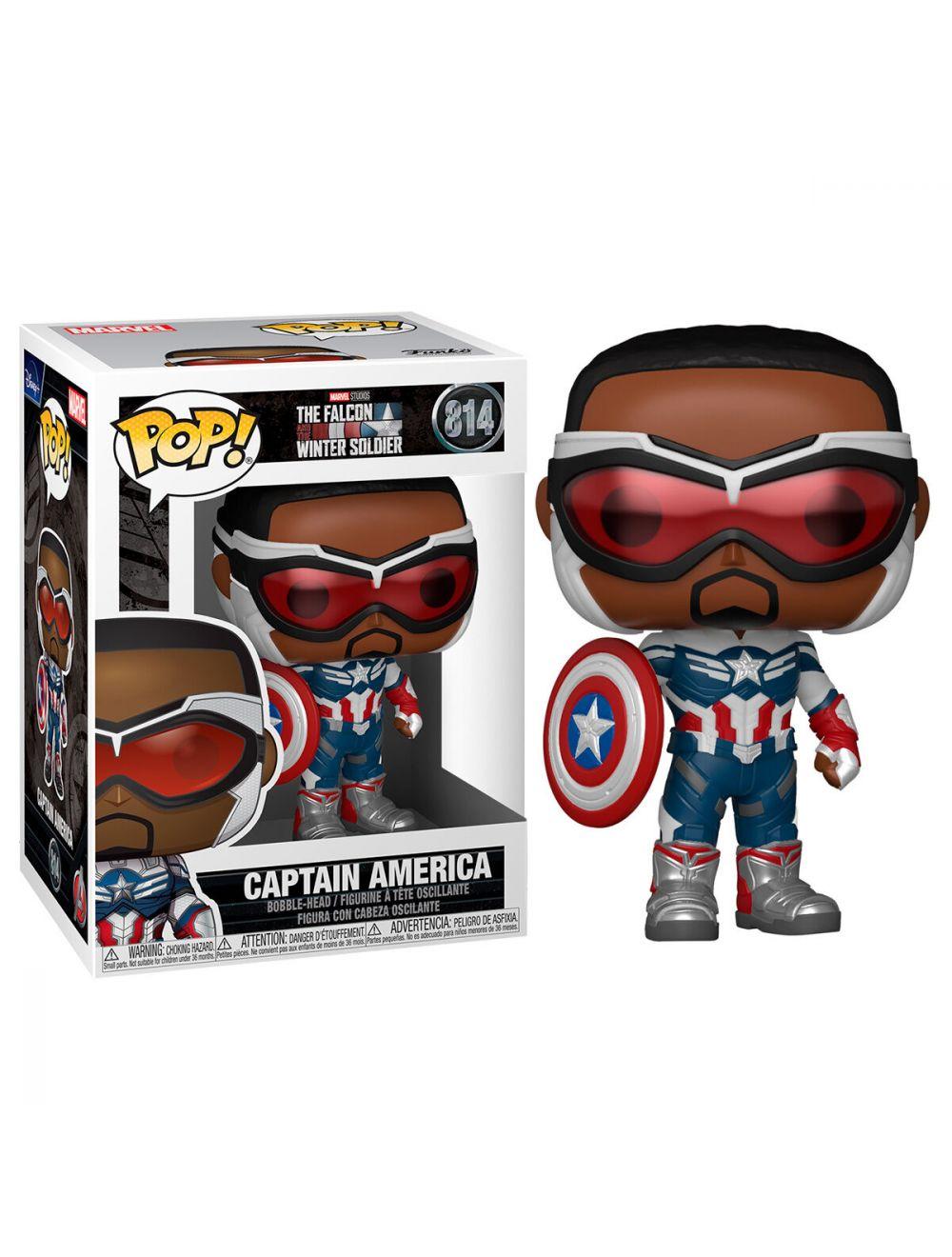Funko POP! - Marvel - The Falcon & Winter Soldier - Captain America Vinyl figura 10cm