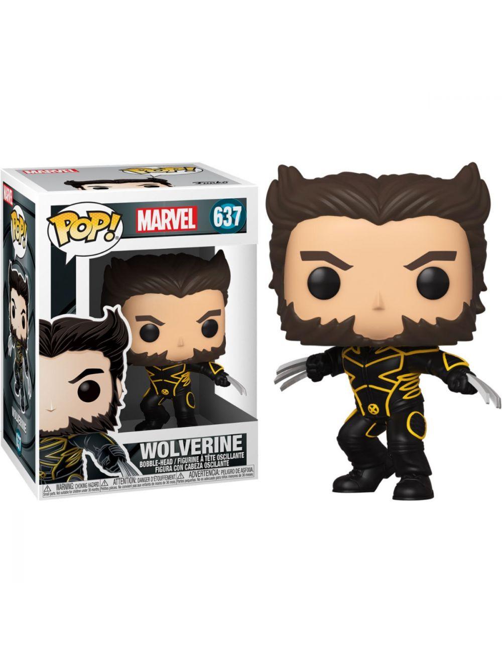 Funko POP! Marvel X-Men 20th Wolverine In Jacket Vinyl Figura 10cm