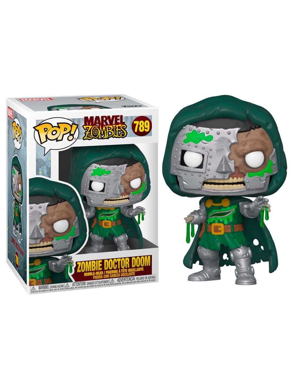 Funko POP! Marvel Zombies - Dr. Doom Vinyl figura 10cm