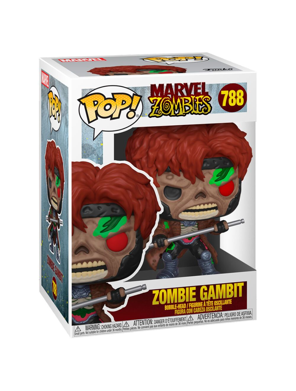 Funko POP! Marvel Zombies - Gambit Vinyl figura 10cm
