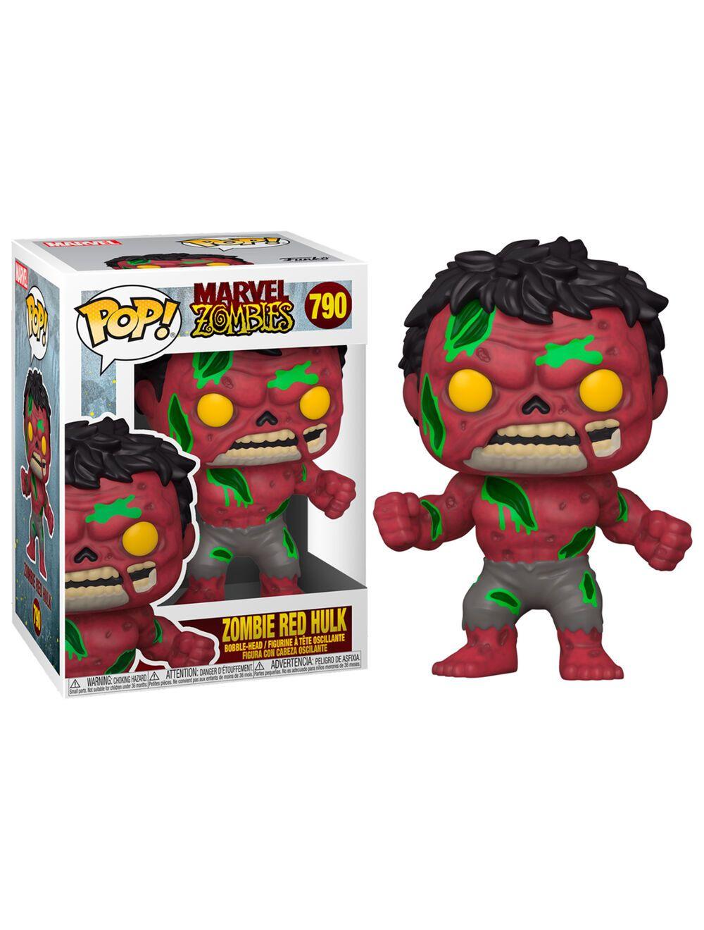 Funko POP! Marvel Zombies - Red Hulk Vinyl figura 10cm