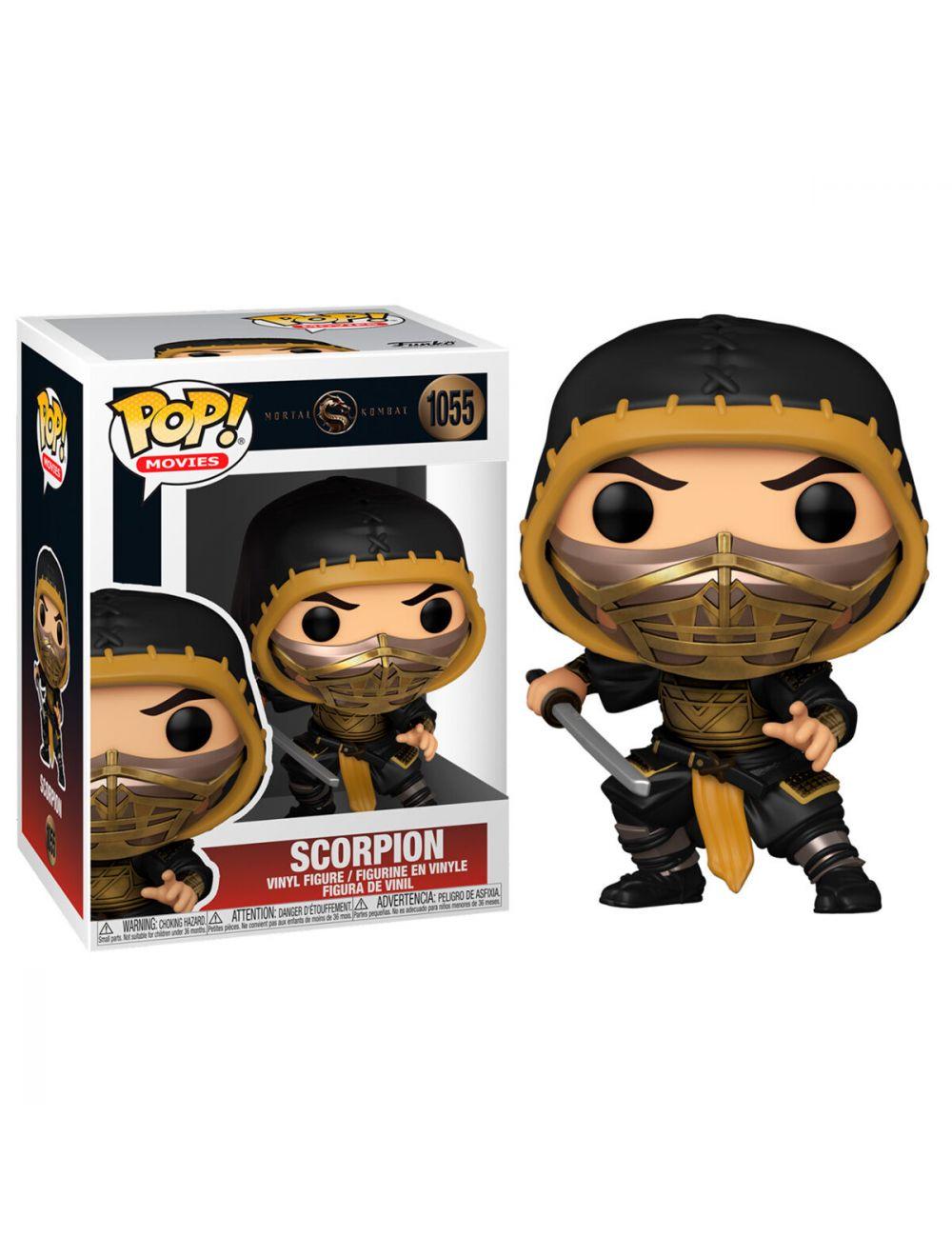 Funko POP! Mortal Kombat - Scorpion  Vinyl figura 10cm