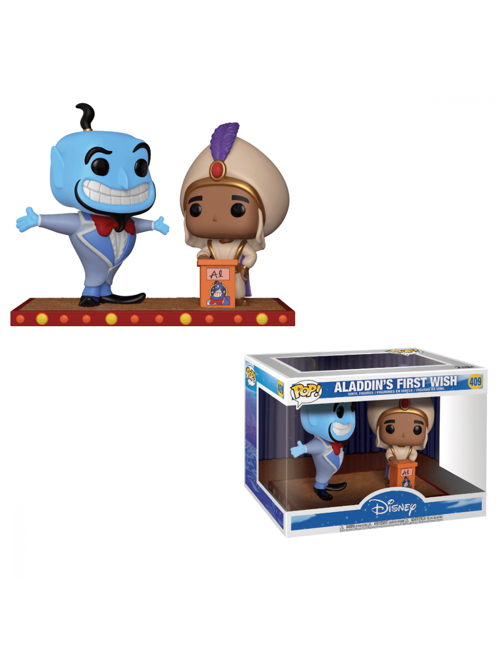 Funko POP! Movie Moment Aladdin - Aladdin's First Wish Vinyl 10cm-es figurák