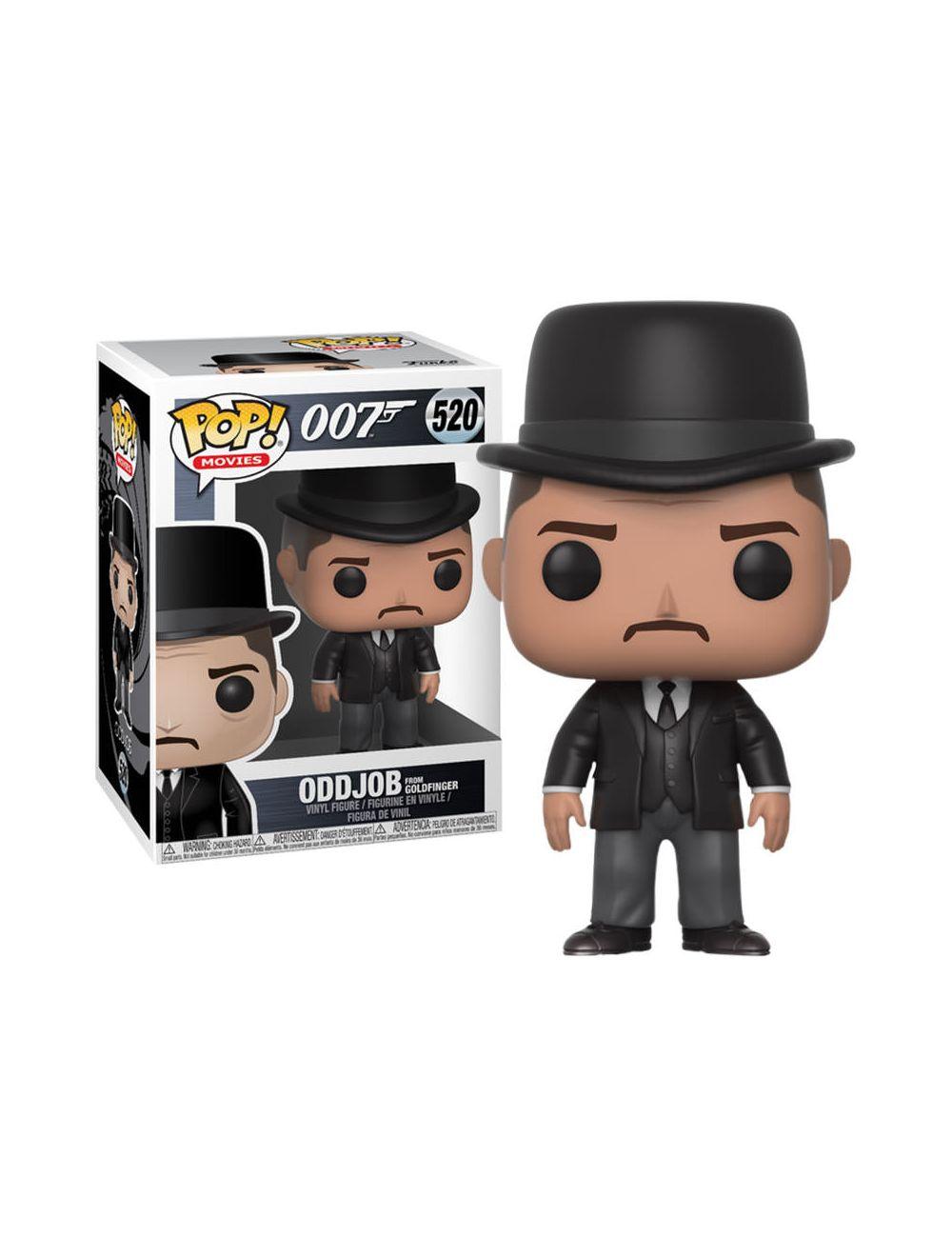 Funko POP! Movies James Bond - Goldfinger: Oddjob Vinyl Figura 10cm