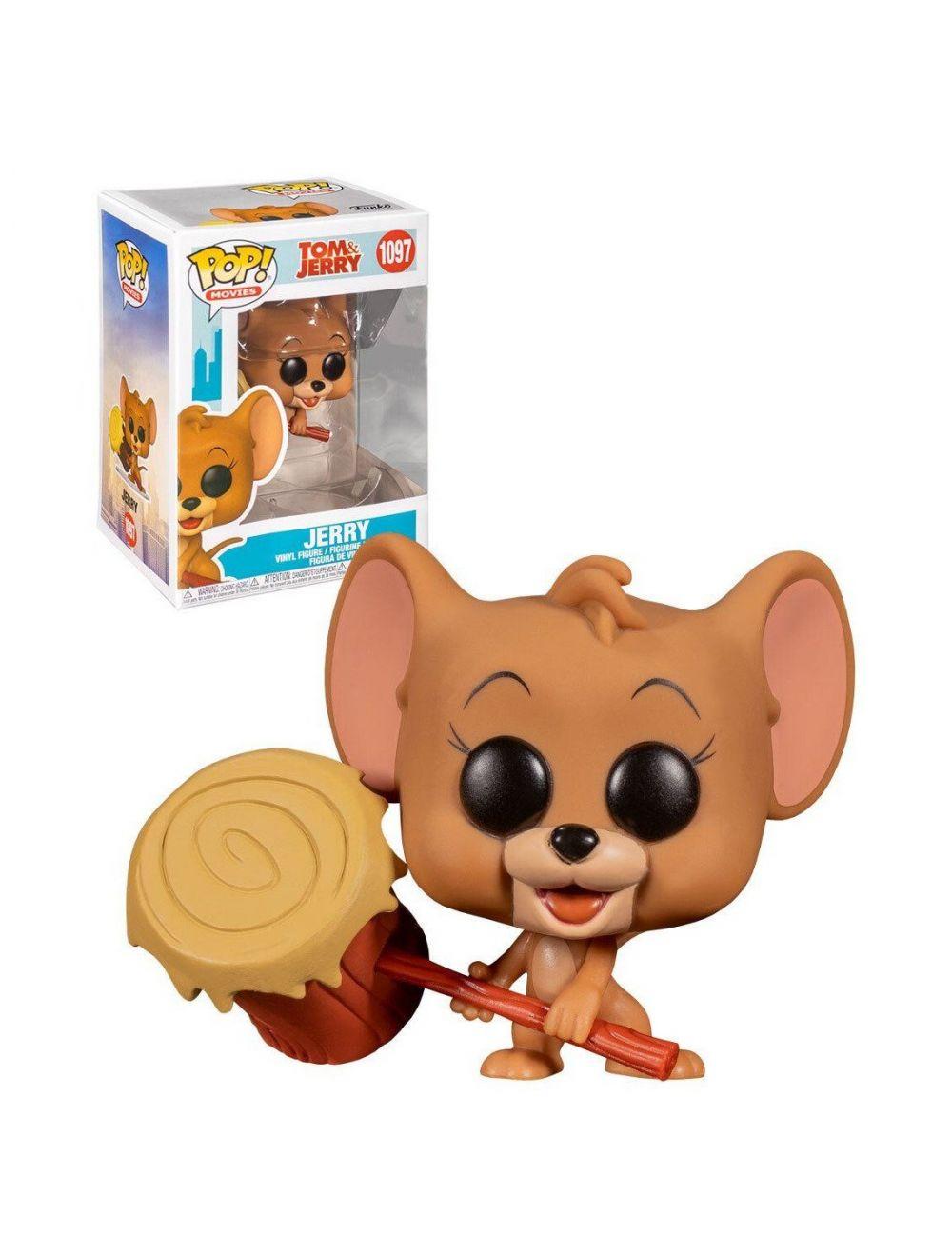 Funko POP! Movies: Tom & Jerry - Jerry Vinyl Figura 10cm
