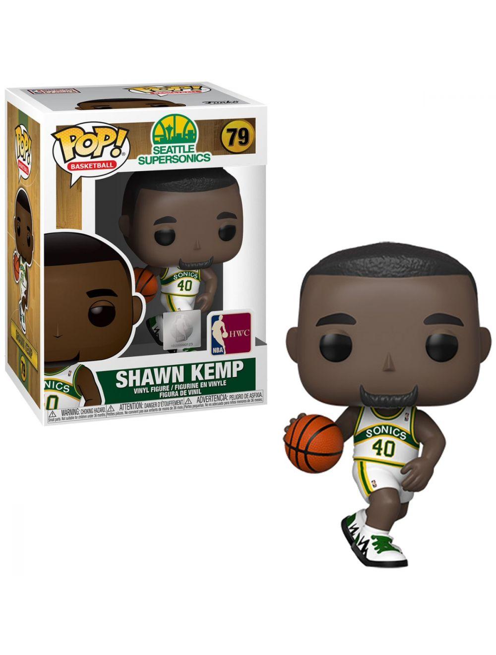 Funko POP! NBA Legends - Shawn Kemp (Sonics home) Vinyl figura 10cm