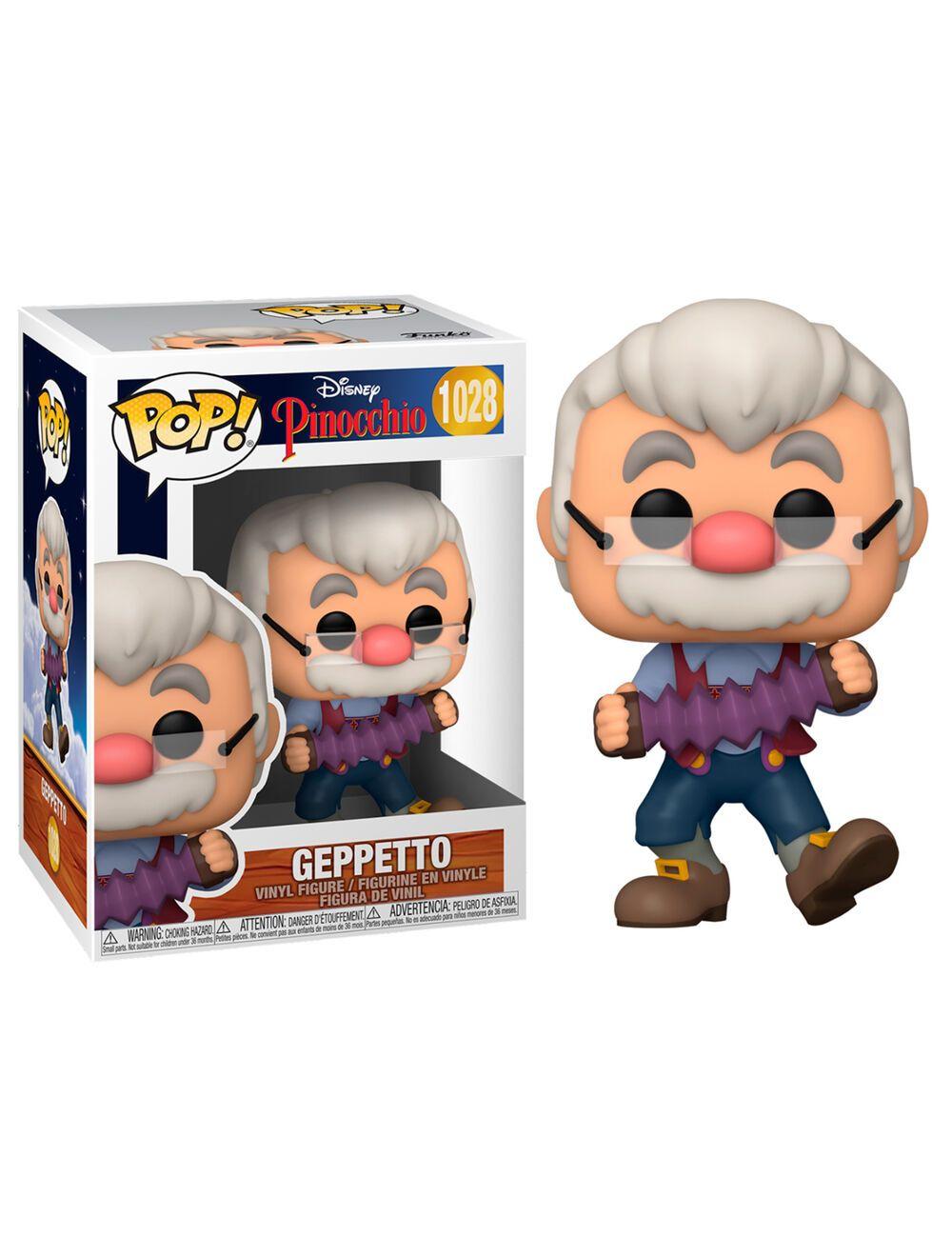 Funko POP! Pinocchio - Geppetto accordion Vinyl figura 10cm