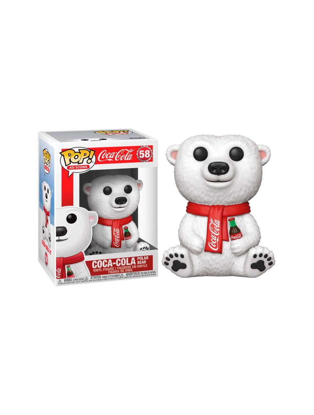 Funko POP! POP Ad Icons: Coca-Cola - Polar Bear Vinyl Figura 10cm