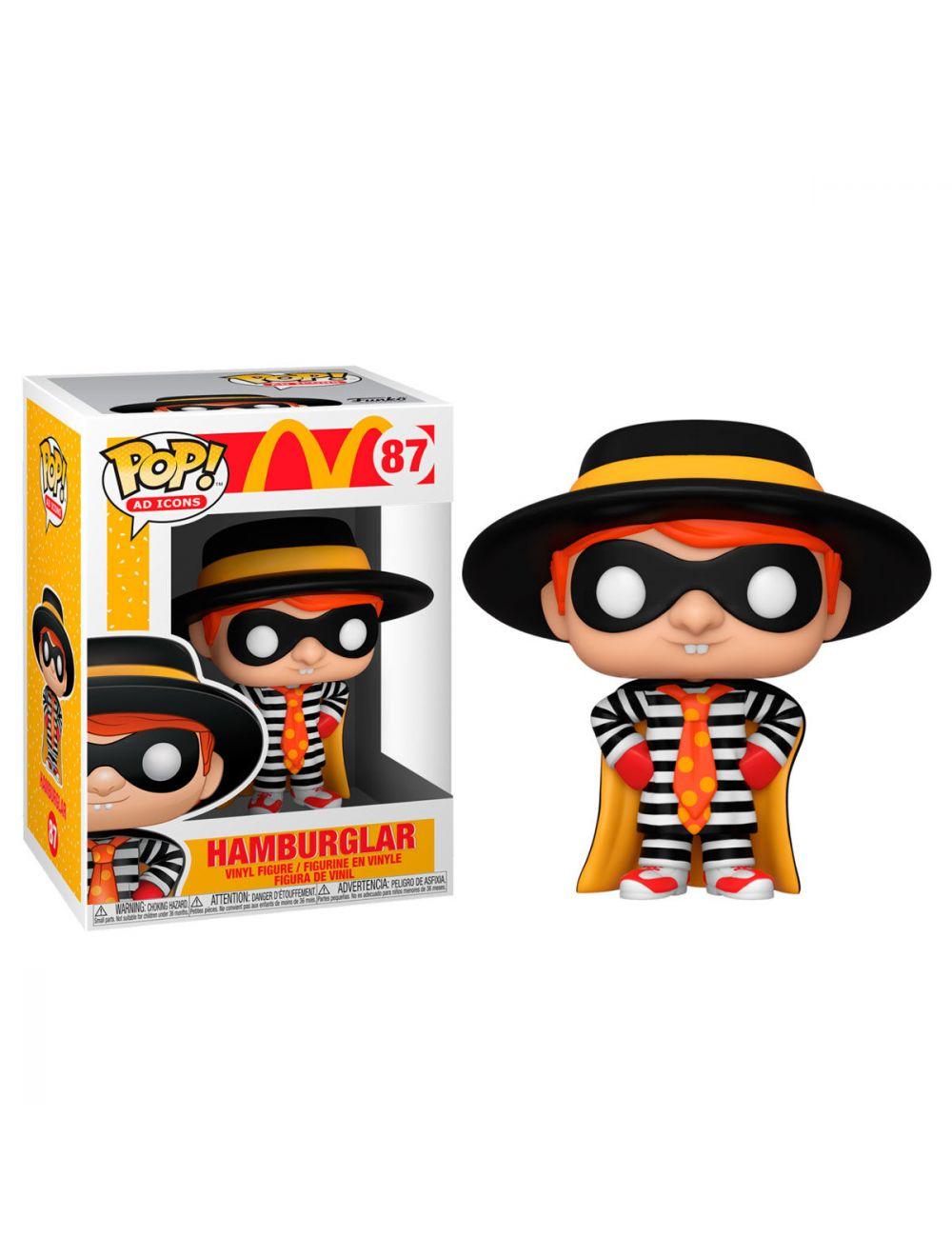 Funko POP! POP Ad Icons: McDonald's - Hamburglar Vinyl Figura 10cm