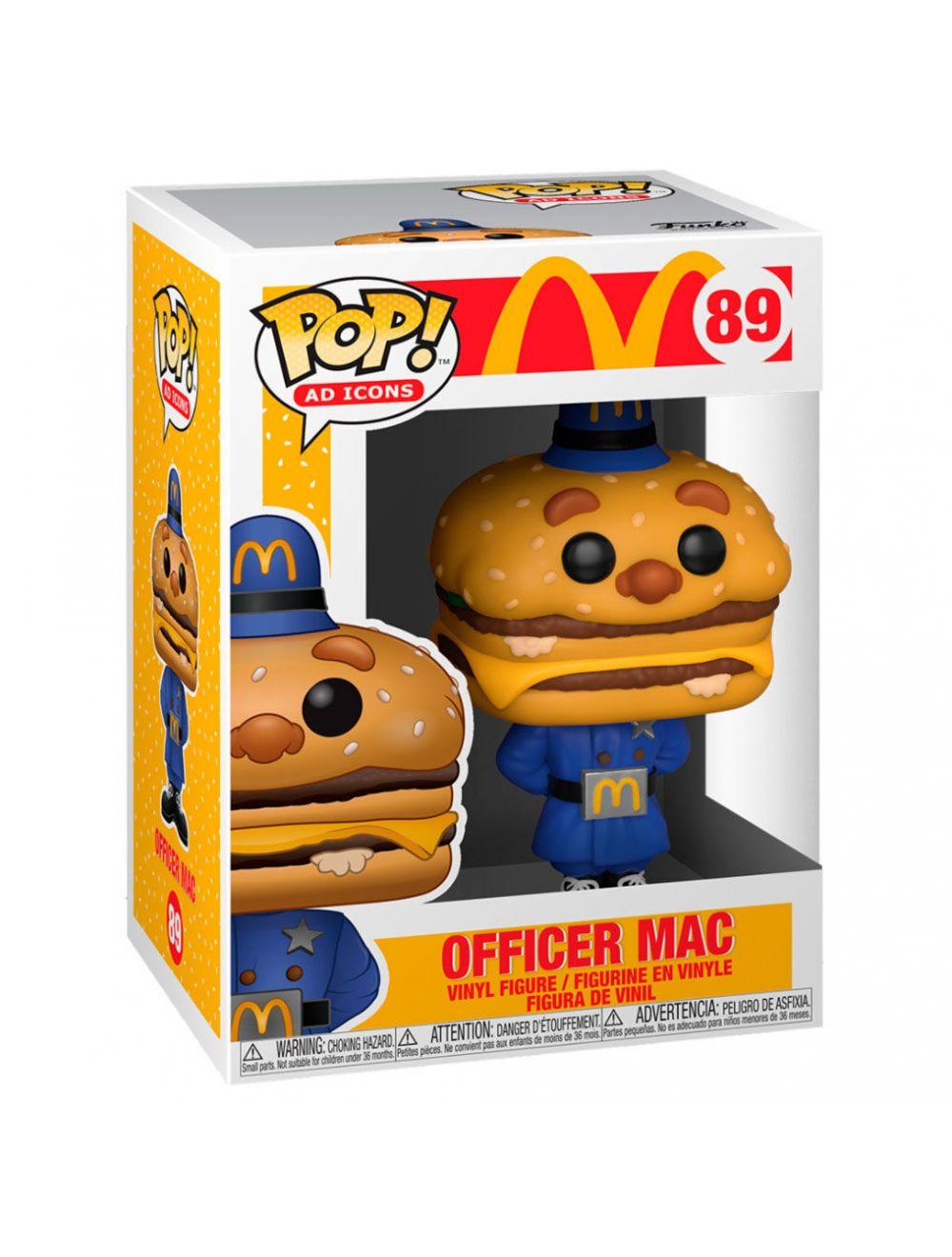 Funko POP! POP Ad Icons: McDonald's - Officer Big Mac Vinyl Figura 10cm