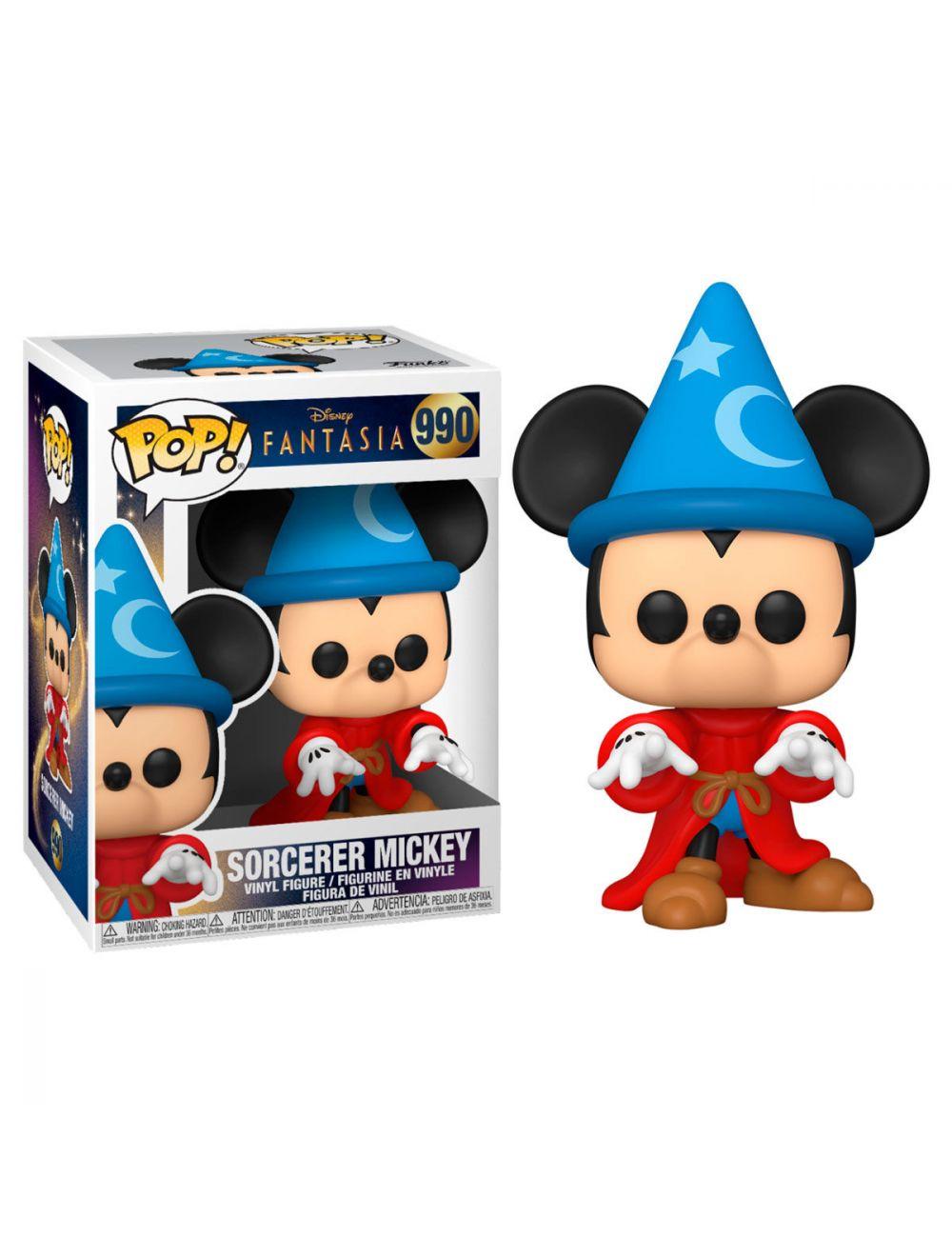 Funko POP! POP Disney: Fantasia 80th - Sorcerer Mickey Vinyl Figura 10cm