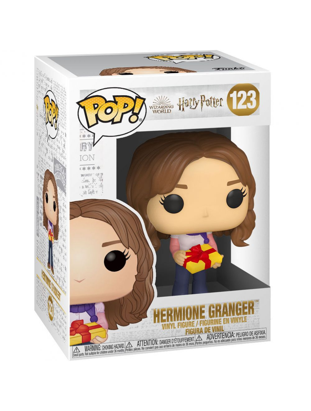 Funko POP! POP HP: Holiday - Hermione Granger Vinyl Figura 10cm