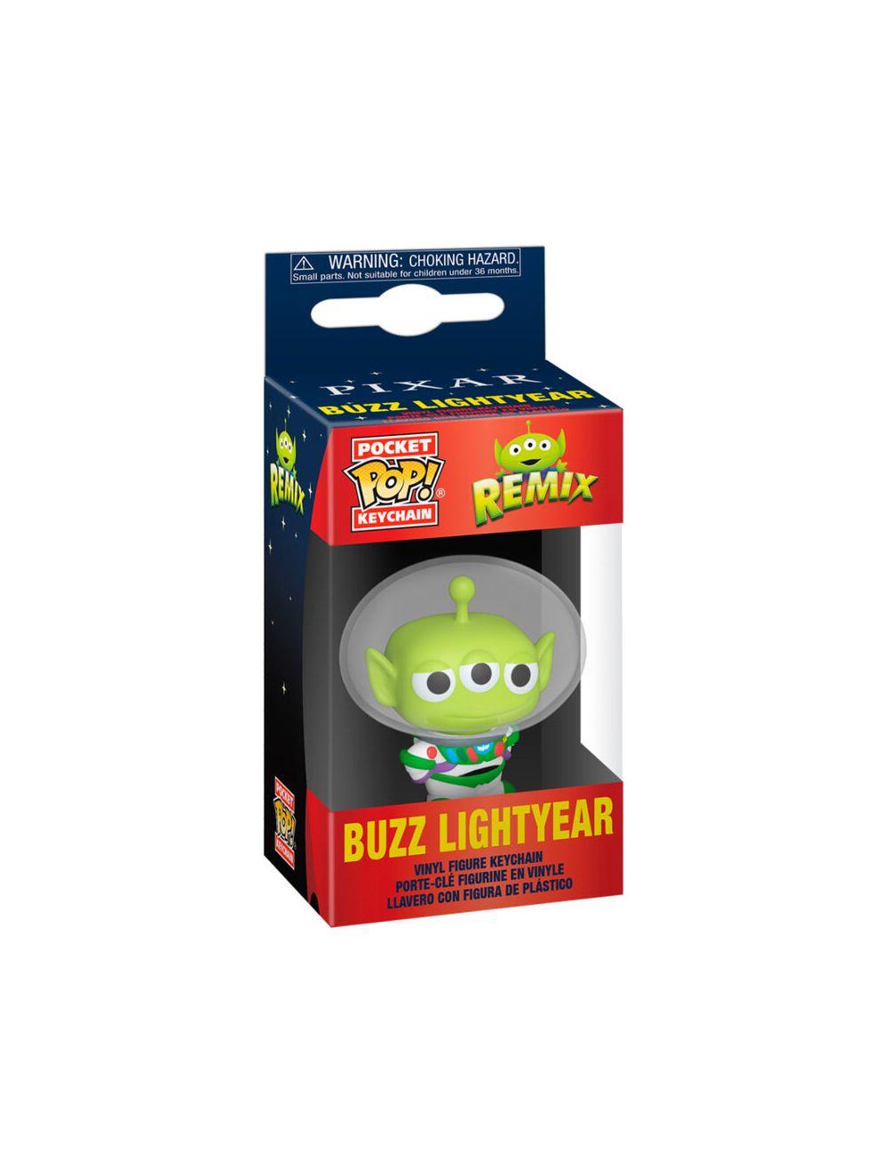 Funko POP! POP Keychain: Pixar- Alien as Buzz Vinyl kulcstartó