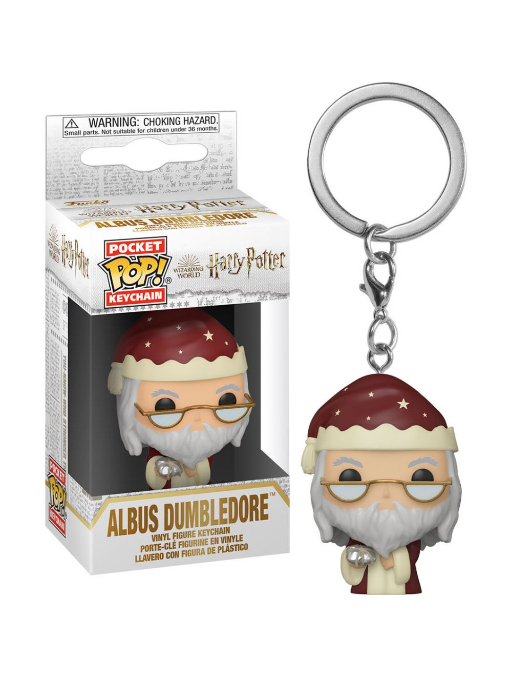 Funko POP! POP Kulcstartó: Harry Potter Holiday - Dumbledore