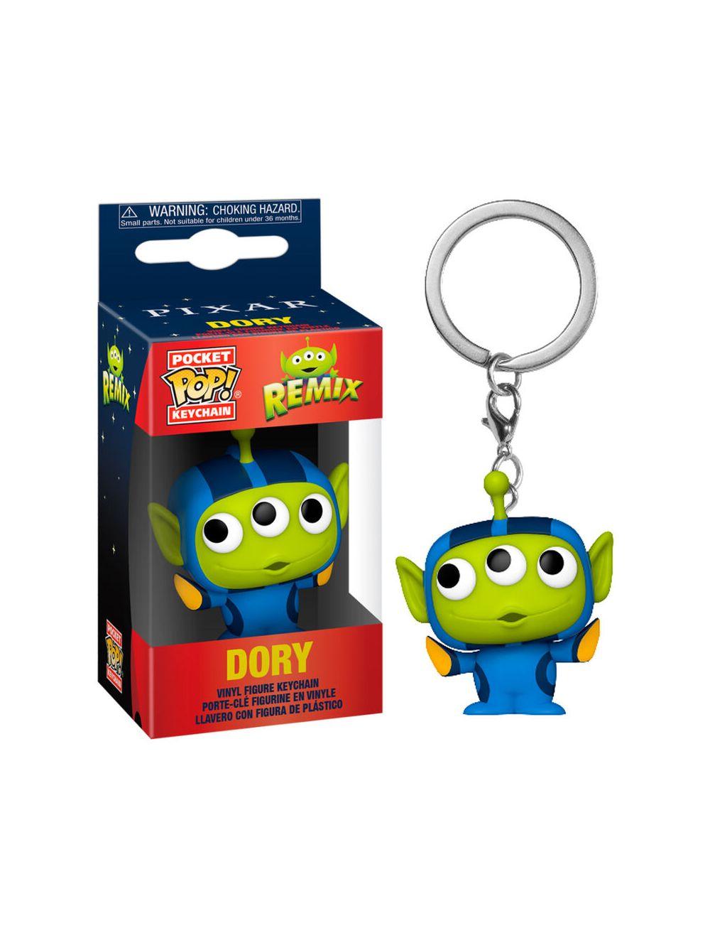Funko POP! POP Kulcstartó: Pixar- Alien as Dory Vinyl figura