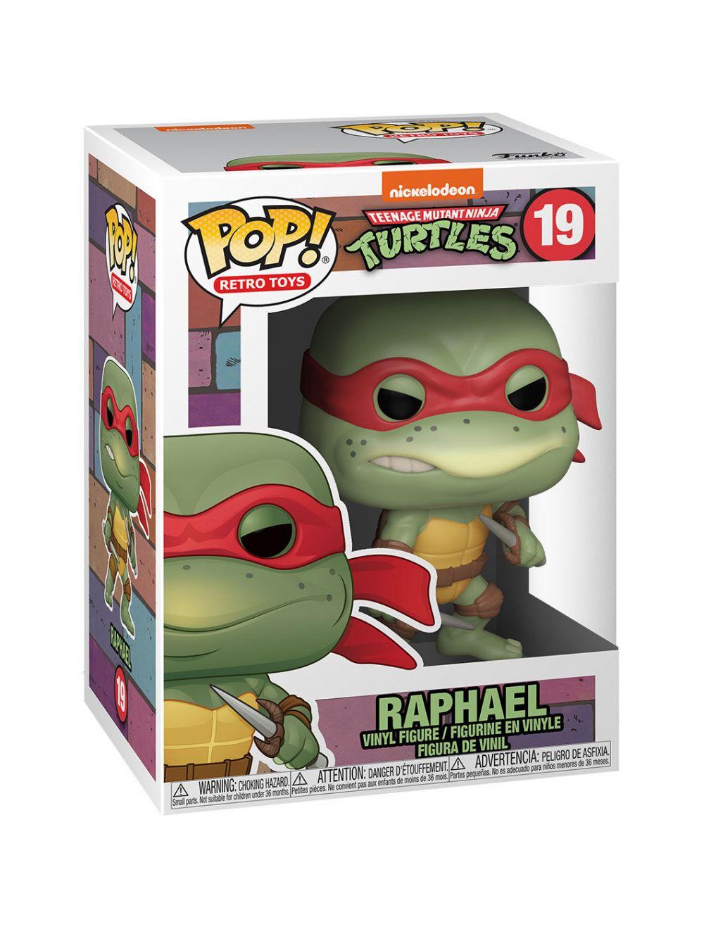 Funko POP! POP Vinyl: TMNT- Raphael Vinyl Figura 10cm